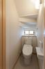 豊橋市注文住宅 M様邸 階段下を有効利用した1階トイレ