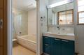 洗面ボウルは少し広めに、浴室も洗い場が少し広くとっており、ゆとりある空間です。