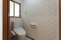 1階トイレもメートルモジュール仕様とし、使いやすくなっています。